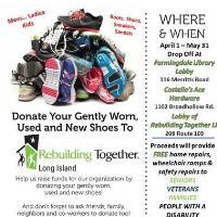 Shoe Fundraiser