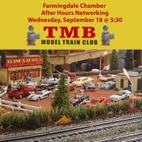 After Hours Networking at TMB Model O Gauge Train Club