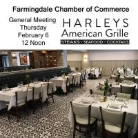 February Luncheon Meeting - Harley's American Grille