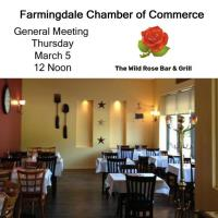 March Luncheon Meeting - Wild Rose Bar & Grill