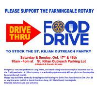 Drive Thru Food Drive to Benefit St. Kilian Pantry