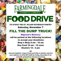 Food Drive to Benefit St. Kilian Pantry