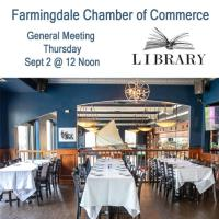 September General Meeting at Library Cafe