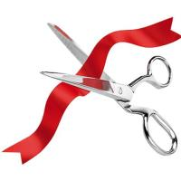 Candy's Jewelers Anniversary Ribbon Cutting