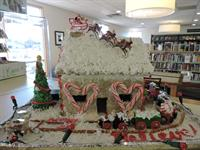 2016 Gingerbread House Winner - The Polar Express (Children's)