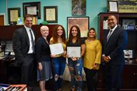 Identical Twin Sisters Named Valedictorian and Salutatorian of Farmingdale High School's Class of 2020