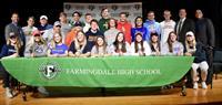 Twenty-four Farmingdale High School  Athletes Sign Letters of Intent