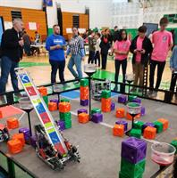 Farmingdale High School Hosts Third Annual VEX Robotics Tournament