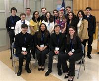 Farmingdale High School History Club Students Participate in LI Ethics Bowl