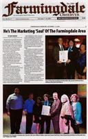 Dave Saul, 2015 Nassau Council Chambner Business Person of the Year