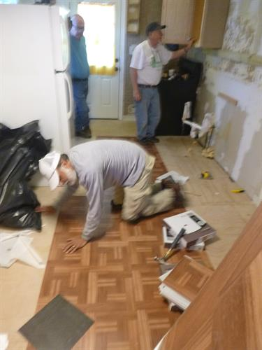 New Flooring For A Needy Neighbor