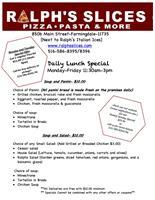 Ralphs Slices Pizza Pasta & More  - Farmingdale