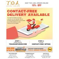 Contact-Free Delivery TOA Restaurants