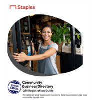 STAPLES SHOP LOCAL EVENT AND PROMOTIONS Free advertising program and event