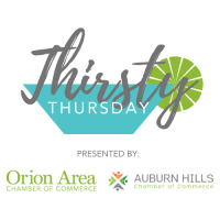 Thirsty Thursday with the Auburn Hills Chamber