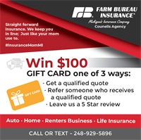 Counelis Agency - Farm Bureau Insurance - Lake Orion