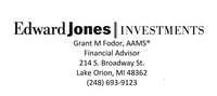 Edward Jones Investments - Grant Fodor