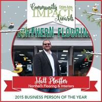 Thank you for voting our owner Business Man of the Year in 2015!