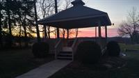 Gazebo at Sunset