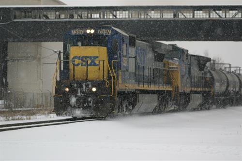 CSX Train in Moon Township