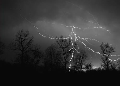 Lightning in Moon Township