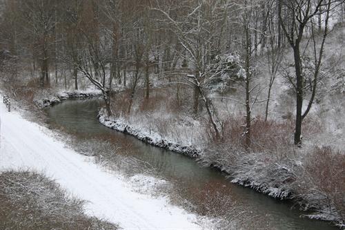 Snow on the Montour Trail