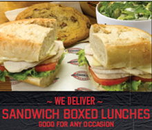 Box lunches must be ordered by 4pm the day before your order