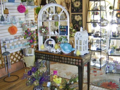 Inside shop!  Stop in:)