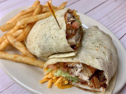 BBQ Chicken Ranch Wrap