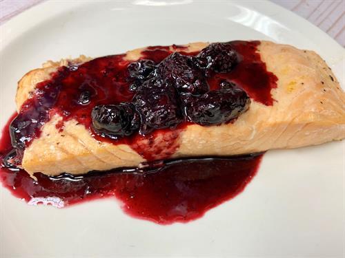 Blackberry Salmon