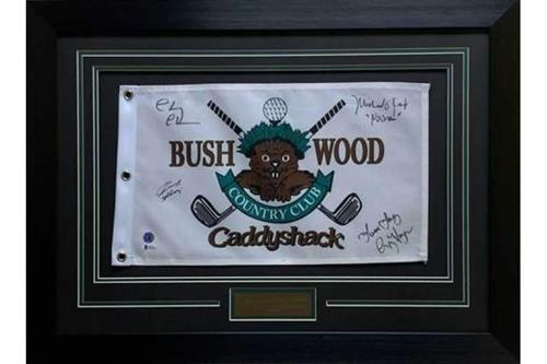 Autographed Flag from Caddyshack