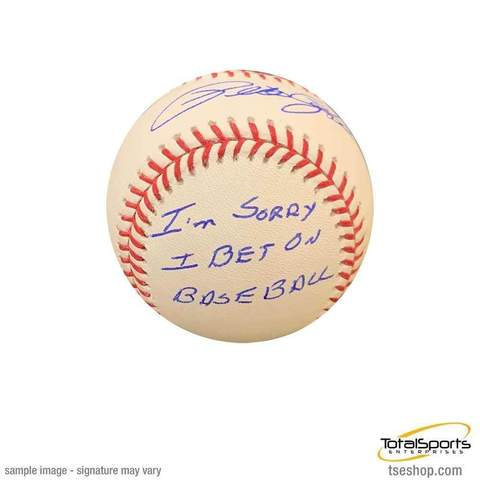 Autographed Pete Rose Baseball