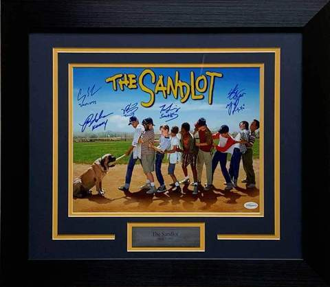 The Sandlot Autographed 11x14 Photo - Professionally Framed
