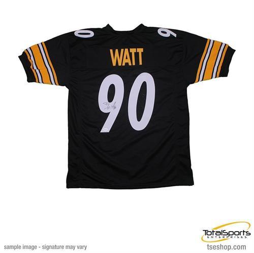 TJ Watt Autographed Custom Jersey