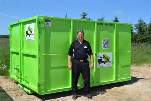 Our large Bins have small foot-prints and twin doors for more efficient and safest walk-in loading