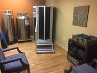 Our Cryotherapy Chamber in our South Side office