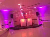 DJ Set up w/ Up Lights