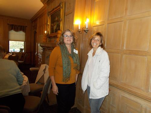 Becky Mulik and Kathleen Cook