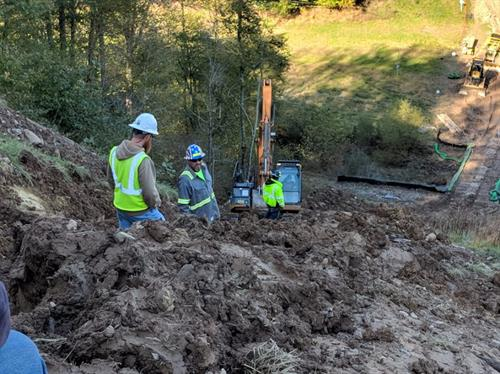 Big Run, WV - Construction Oversight of Slip Repair along Gas Pipeline