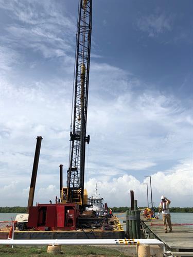 Guantanamo Bay, Cuba - Design Repairs for Pier Quebec