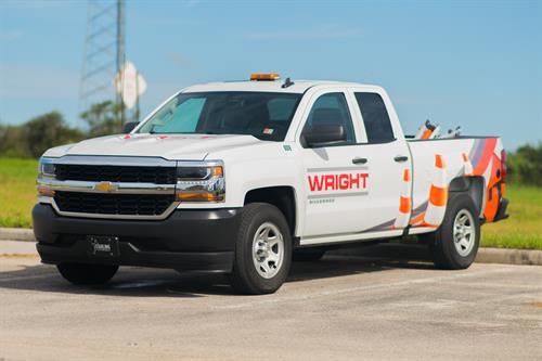 High tech safety work trucks