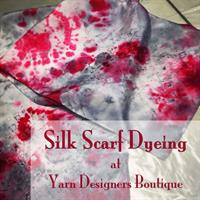 Dye Your Own Colorful Silk Scarf