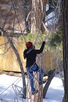 The Cargo Net at Cedar Lake Camp in Big Bear Lake