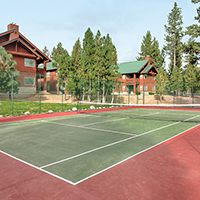 Big Bear, CA - WorldMark Big Bear, Tennis Court