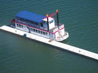 Relax this 1.5 hour, narrated tour on a one of a kind Paddlewheel Tour Boat on beautiful Big Bear Lake!