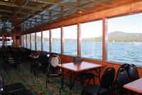The fully enclosed lower main salon hosts a Galley and fully modern restrooms for your convenience!