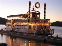 Celebrate the holidays onboard Miss Liberty Paddlewheel Tour Boat!
