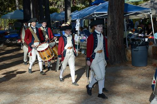 Popular Mountain Fifes & Drums Corps opens teh festival each year