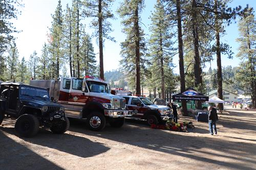 First responders on hand to talk about wildfire prevention