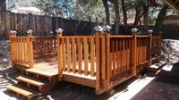 Reza's put in this enlarged and updated beautiful deck in for a wonderful customer.